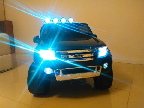 2015 TOY CAR - New Ford Ranger XLS - electric 12V 2WD / RC