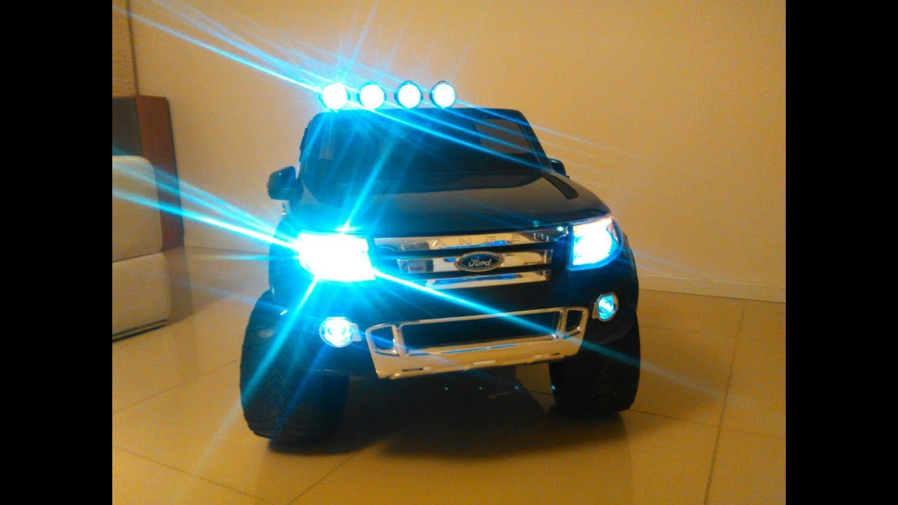 2015 TOY CAR - New Ford Ranger XLS - electric 12V 2WD / RC ...