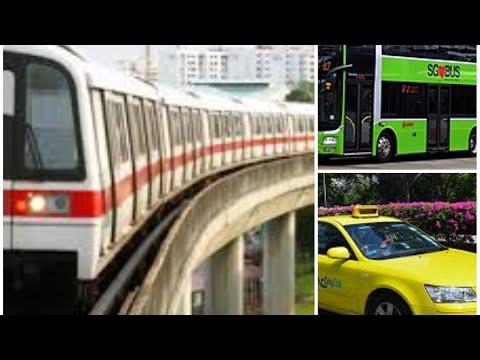 Public Transport in Singapore Metro/Bus/Taxi Hindi
