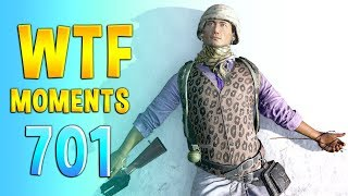 PUBG WTF Funny Daily Moments Highlights Ep 701