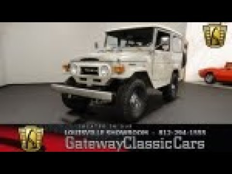 1975 Toyota FJ40 Land Cruiser - Louisville Showroom - Stock # 2011