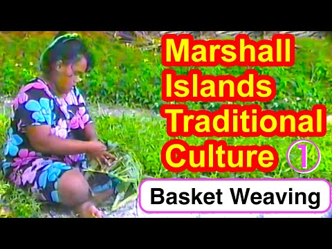 Marshallese Basket Weaving, Part 1