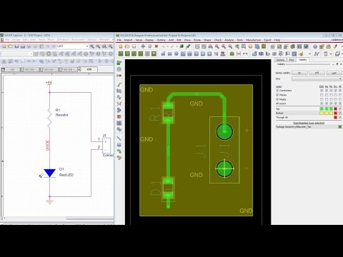 Starting with OrCAD and Cadence Allegro PCB - Tutorial for Beginners