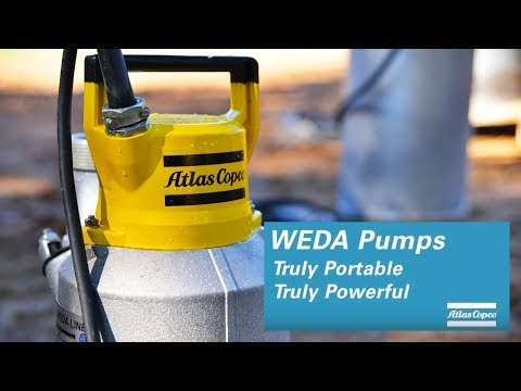 WEDA submersible pumps: five great reasons to pick them, by Atlas Copco