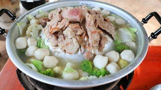 Yummy cooking soup vegetable with pork recipe - Natural Life TV Cooking