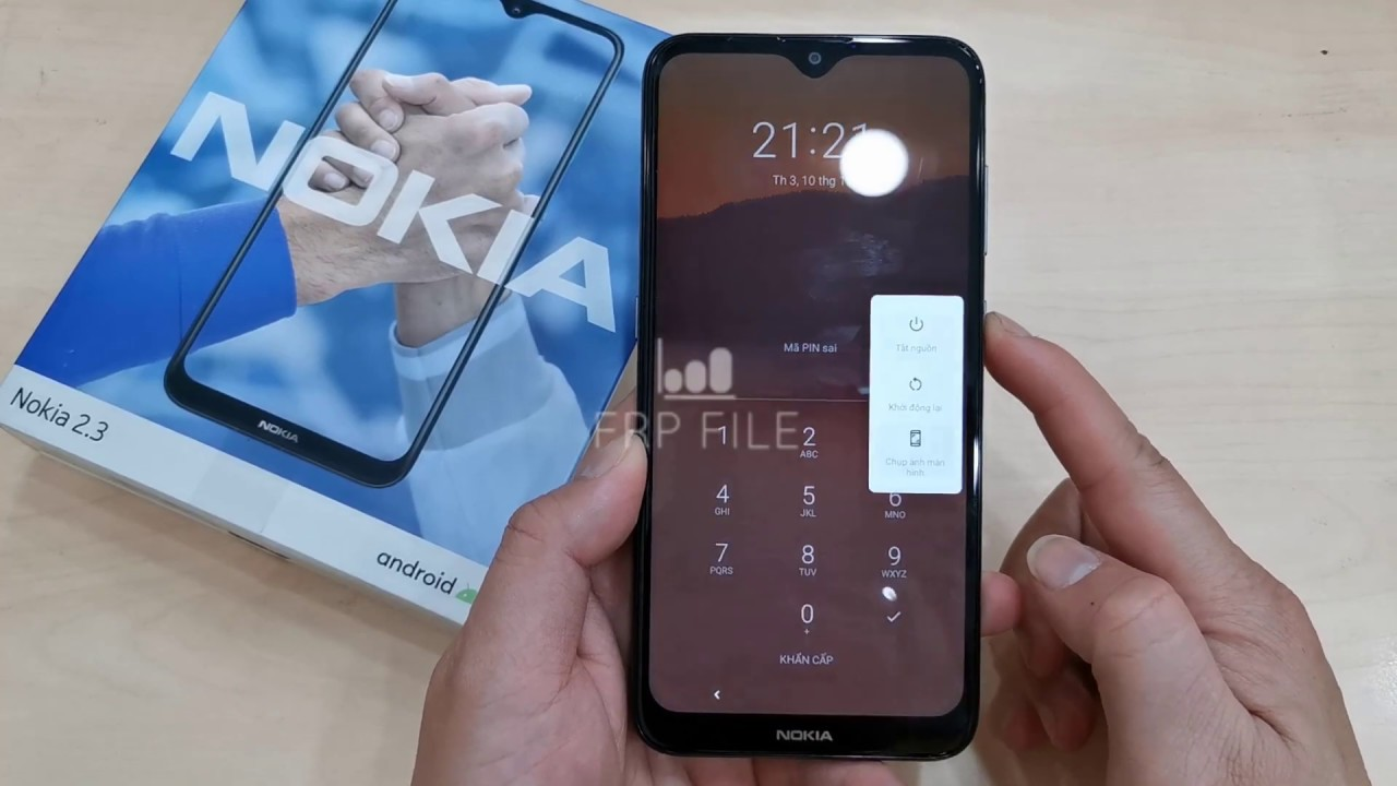 How to Hard Reset & Bypass FRP Nokia  2.3 (TA-1206) without PC Security patch November, 2019 MyT