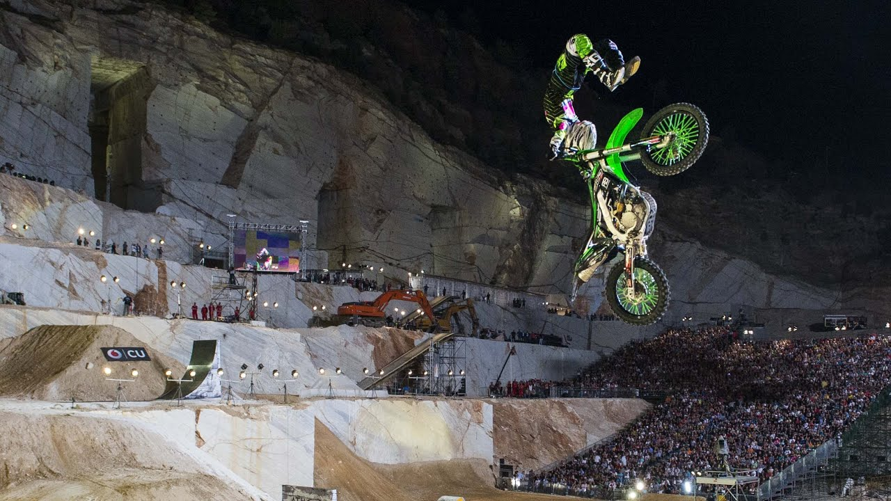 Next Level FMX Riding in Greece - Red Bull X-Fighters Athens 2015