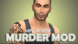 The Sims 4 | Mini Mod Overview | Murder Mod.