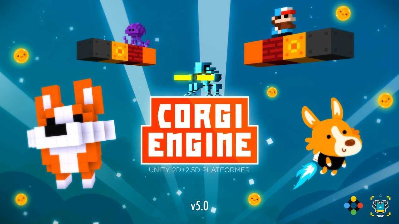 Corgi Engine - the best 2D+2 5D platformer solution for