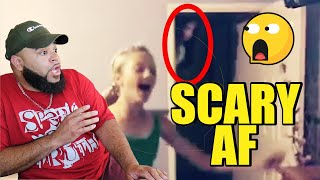 Scariest Ghost Video I've Ever Seen - 10 CREEPY Ghost Sightings Caught on Tape