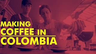Making Colombian Coffee with Rossella Fiamingo in Bogota thumbnail