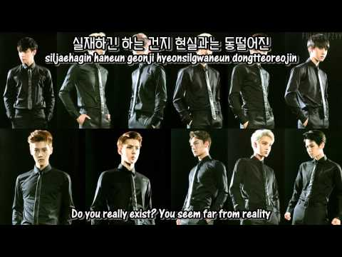 EXO - Black Pearl (Rearranged Ver.) + [English subs/Romanization/Hangul]