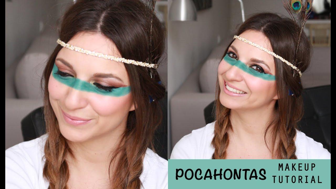 Pocahontas makeup tutorial youtube pocahontas makeup tutorial baditri Images