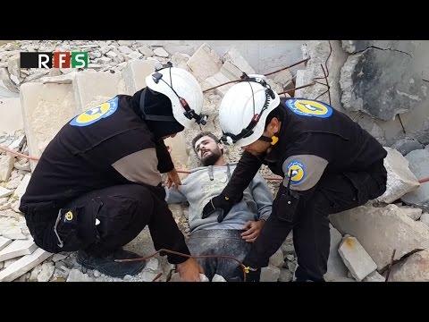 White Helmets' bizarre 'mannequin challenge' in Syrian warzone