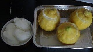 Sorbet citron + citrons givrés