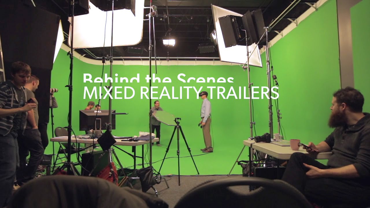 Making High Quality Mixed Reality VR Trailers and Videos — KERT