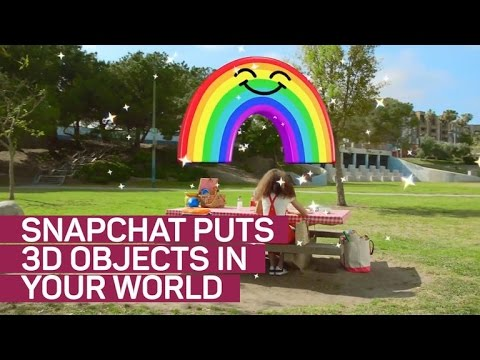 Snapchat World Lenses let you creep out your friends in 3D (CNET News)