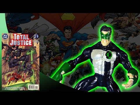 KENNER - BATMAN TOTAL JUSTICE - GREEN LANTERN ACTION FIGURE REVIEW (eng)