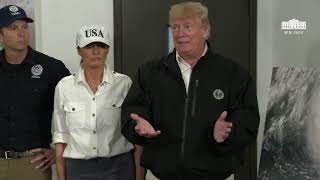 President Trump Delivers Remarks at the Georgia Operations Center