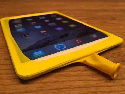 IPad Case/ Cover Build With A Balloon | IPad Case/ Cover Aus Einem Ballon