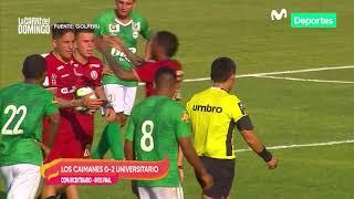 La Carne del Domingo: Universitario de Deportes 2-0 Los Caimanes | COPA BICENTENARIO Resumen y goles