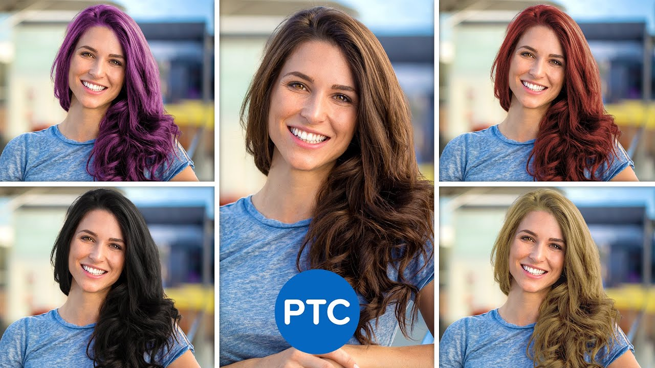 How To Change Hair Color in Photoshop - EASY Yet POWERFUL Technique!