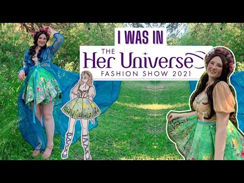 I was in the Her Universe Fashion Show!