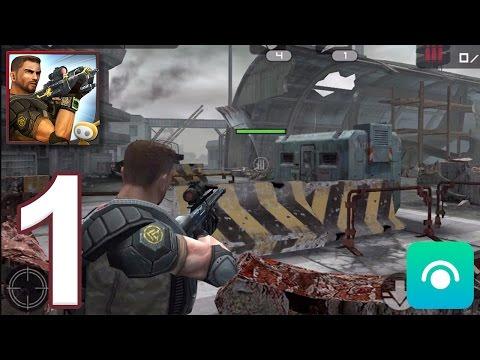 Frontline Commando - Gameplay Walkthrough Part 1 (iOS)