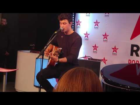 Shawn Mendes Live - TREAT YOU BETTER (Virgin Radio Paris)