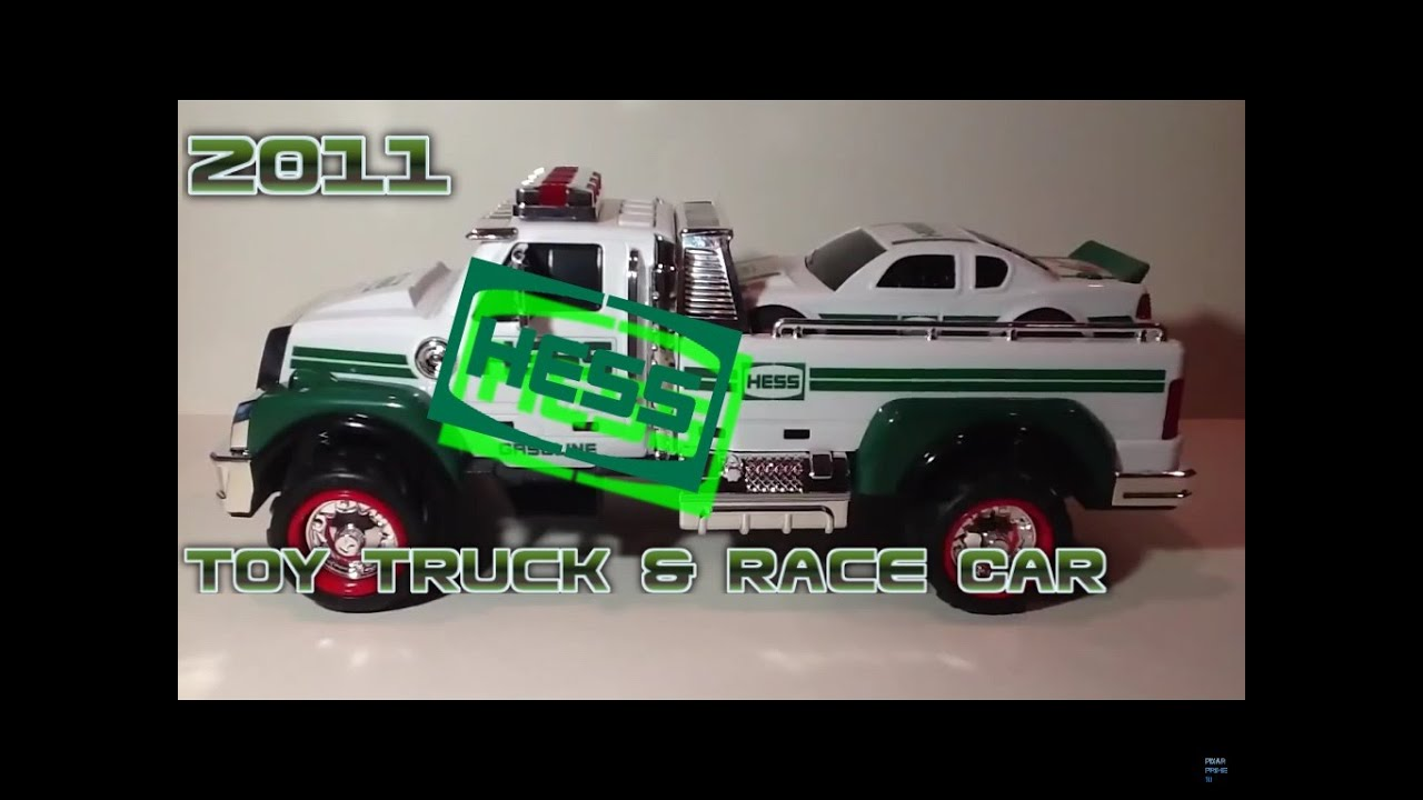 Video review of the hess toy truck 2011 hess toy truck and race car youtube