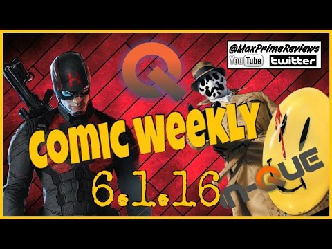 Captain America Hydra?! DC Rebirth and More! Comic Weekly 6.1.16