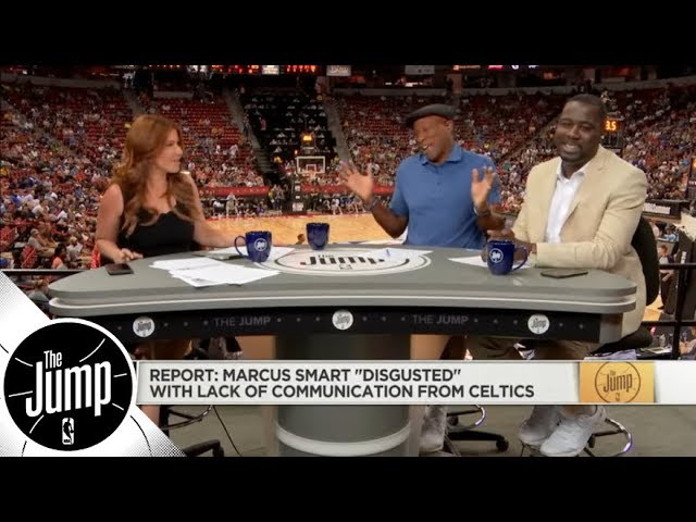 Byron Scott calls out Marcus Smart for report he's 'disgusted' with Celtics | The Jump | ESPN
