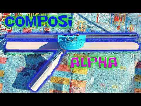 COMPOSI ALPHA WAGTAIL MOD SQUEEGEE | WINDOW CLEANING TOOLS