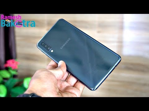 Samsung Galaxy A7 Triple Camera Full Review and Unboxing