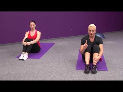 Trénink břicho, zadek, nohy - 10 minut