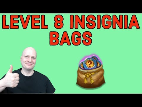 CASTLE CLASG. LEVEL 8 INSIGNIA BAGS THUNDER GOD'S GIFT.  FREE 2 PLAY ACCOUNT.