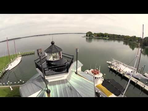 Chesapeake Bay Maritime Museum by Air
