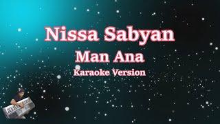 Sabyan- Man Ana  Karaoke Lirik Tanpa Vocal  Cover