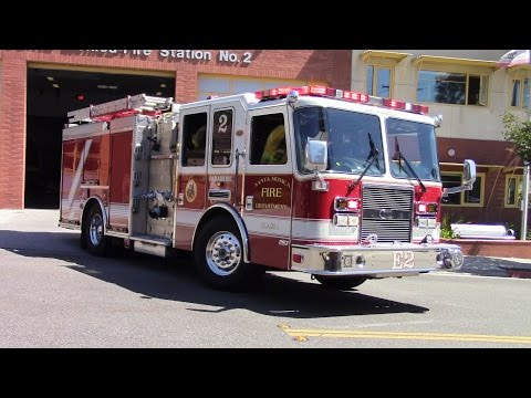 Santa Monica Engine 2 Responding (x2)
