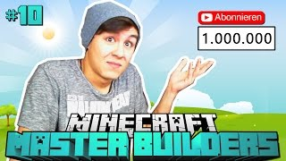 special bei 1 000 000 abos minecraft master builders 10 deutsch hd