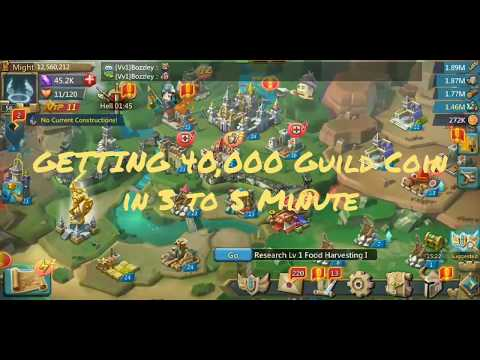 Lords Mobile 40K Guild Coin Immediately