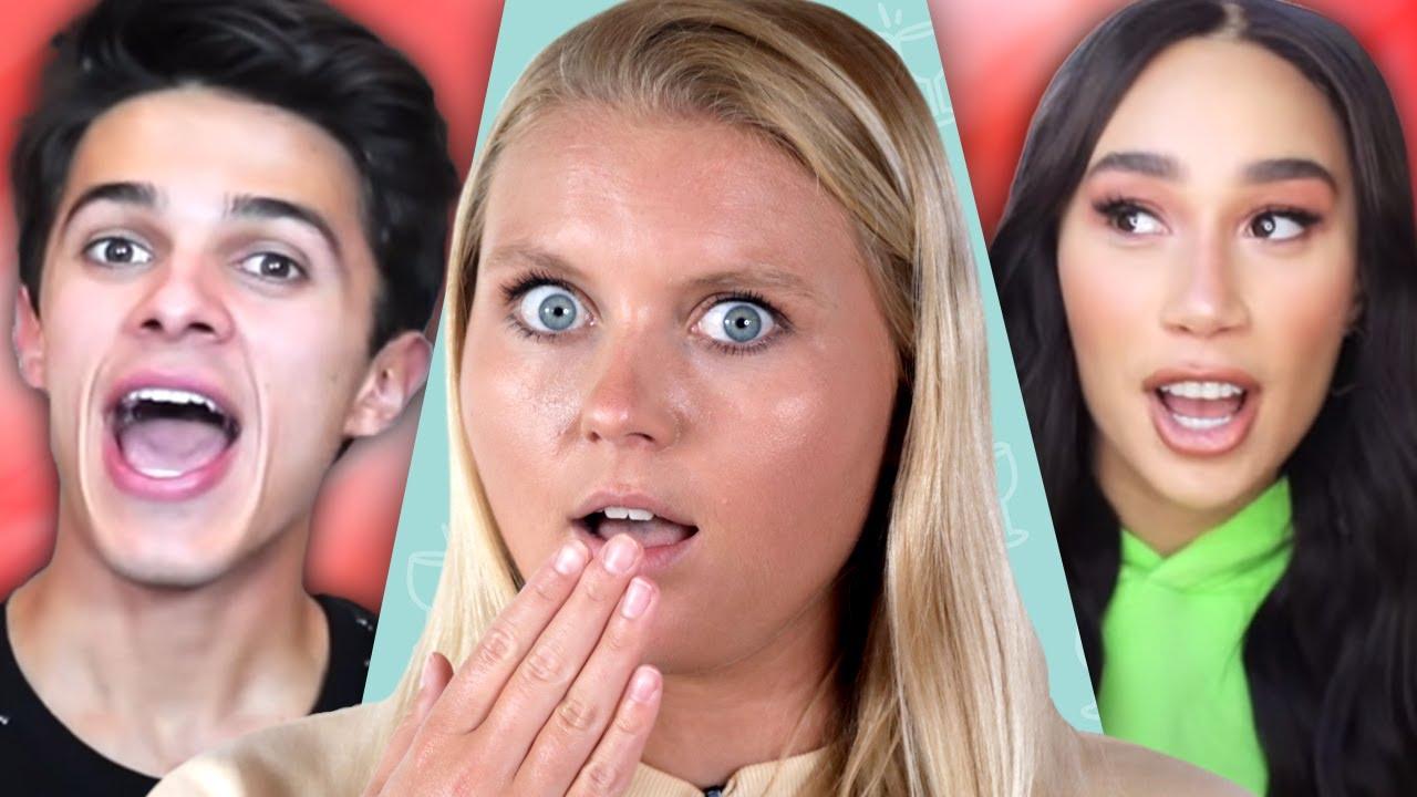Brent Rivera REACTS to Eva's new boyfriend, Addison Rae leaves Hype House, Cole & Lili breakup!?