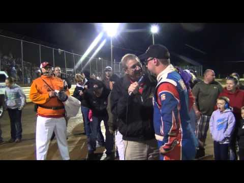 Lincoln Speedway 410 Sprint Car Victory Lane 4-23-16