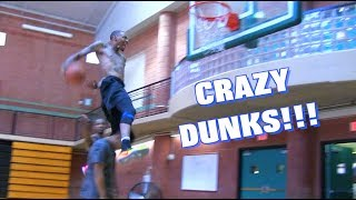CRAZY DUNKS!! Southerland + Jus Fly + Staples + Haneef Video