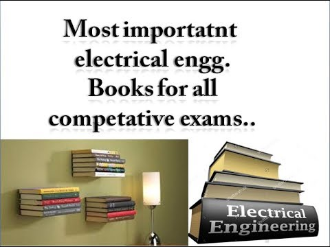 Important electrical books for competative exams.