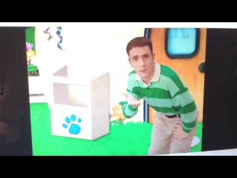 Blues clues notebook phrase from what time is it for blue part 2