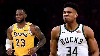 The Best of The Greek Freak vs. LeBron James: 2019 Edition