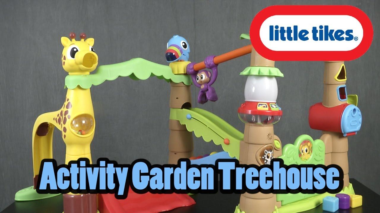 Little Tikes Activity Garden Treehouse From Mga Entertainment Youtube