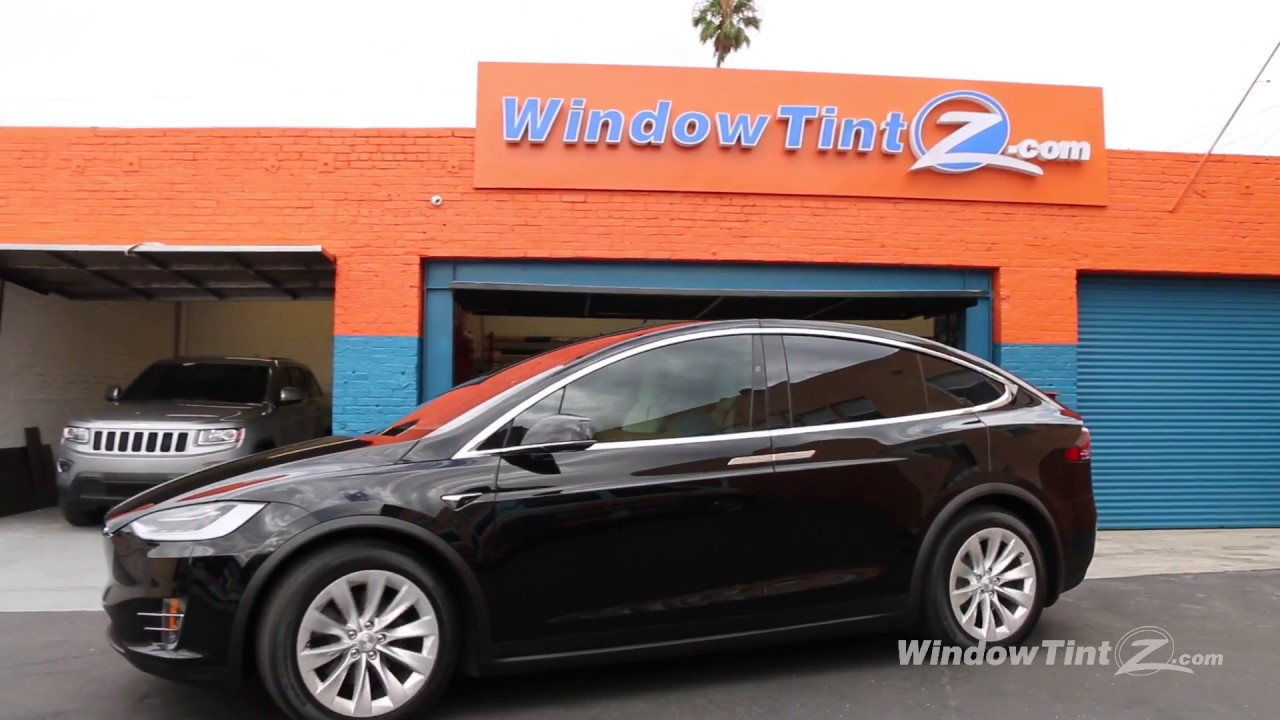 Tesla Model X Window Tint In Los Angeles High Heat Rejection Uv Protection