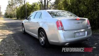 2012 Chrysler 300C CRD engine sound and 0-100km/h